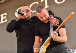 Justin and Jeremy Furstenfeld of Blue October, City of Trees, Papa Murphy's Park, Sacramento, CA, September 22, 2018, Photo by Daniel Tyree