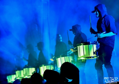 Odesza's Drum Line, City of Trees, Papa Murphy's Park, Sacramento, CA, September 22, 2018, Photo by Daniel Tyree