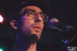 Connor Davison of Bad Bad Hats performing at Harlows in Sacramento, CA (8/28/2018). Photo Cam Evans