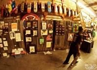 Featured art wall, Art Show, Boulevard Skate Shop, September 22, 2018, Sacramento CA. Photo by Joey Miller