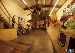 Art and Ramps at Boulevard Skate Shop