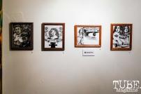 The work of Cecelia Perez, The Showcase, 1810 Gallery, Sacramento, CA , October 20, 2018, Photo by Mickey Morrow