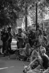 Attendees for Sac Porchfest 2018 in Sacramento, CA. September 29, 2018. Photo Benz Doctolero
