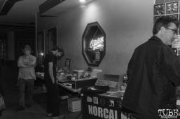 Attendees for Norcal Noisefest XXII in Sacramento, CA. October 7, 2018. Photo Benz DoctoleroNoisePsalm, Cafe Colonial, Sacramento, CA. October 6, 2018. Photo Benz Doctolero