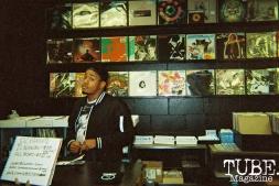 Cam Evans, Sacramento is Burning Release Party, Phono Select Records, Sacramento CA. Photo Benz Doctolero.