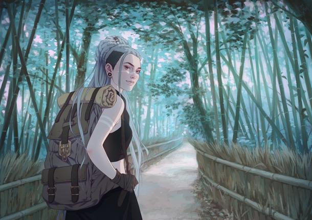 Walk With Me by Djamila Knopf