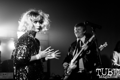 Blondie, Sacramento Halloween Show, Verge Center for the Arts, Sacramento, CA. April 6, 2019. Photo Mickey Morrow